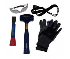 Hard Rock Geology Kit with Crack Hammer
