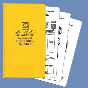 Rite in the Rain - 540F - Geological Field Book